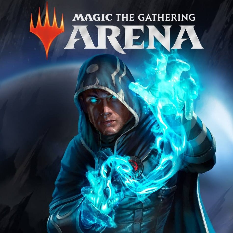 hooded figure with blue flames in hands