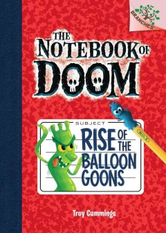 cover of notebook of doom