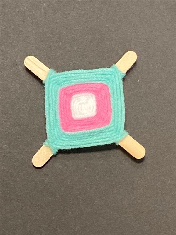 photo of the god's eye craft