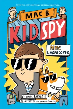 cover of mac b kid spy