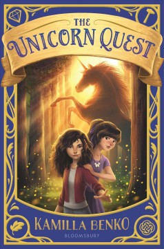 cover of unicorn quest