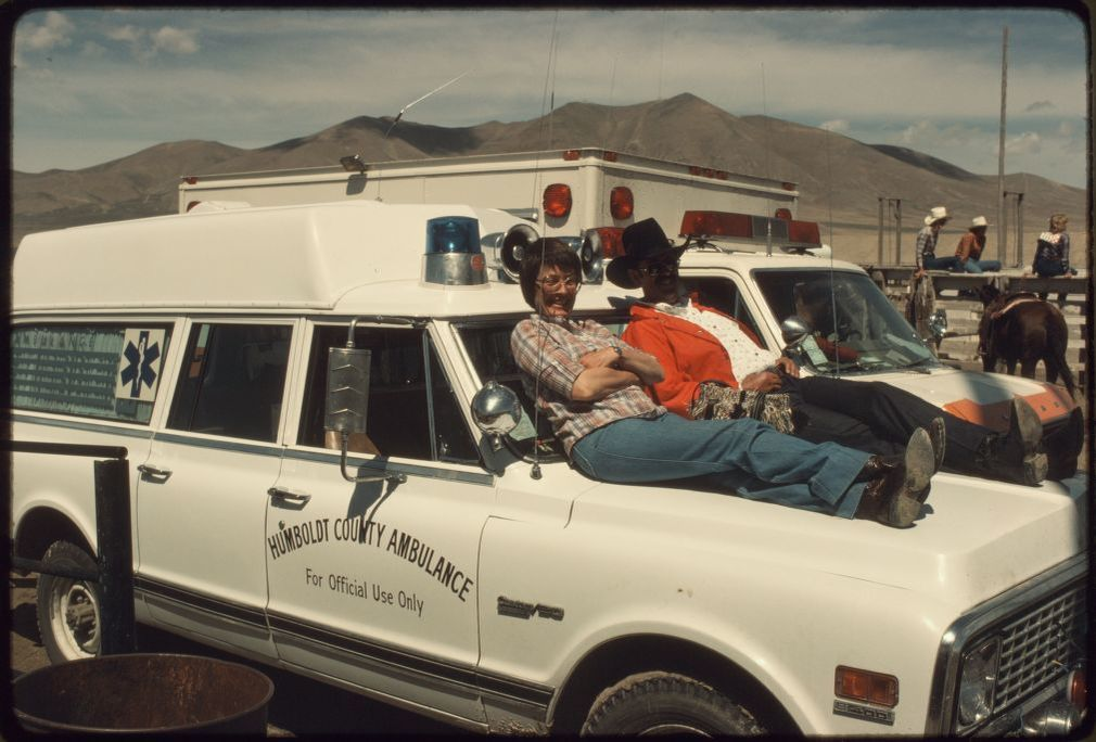 Humbolt County Ambulance in 1981.