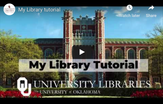 My Library Tutorial Icon