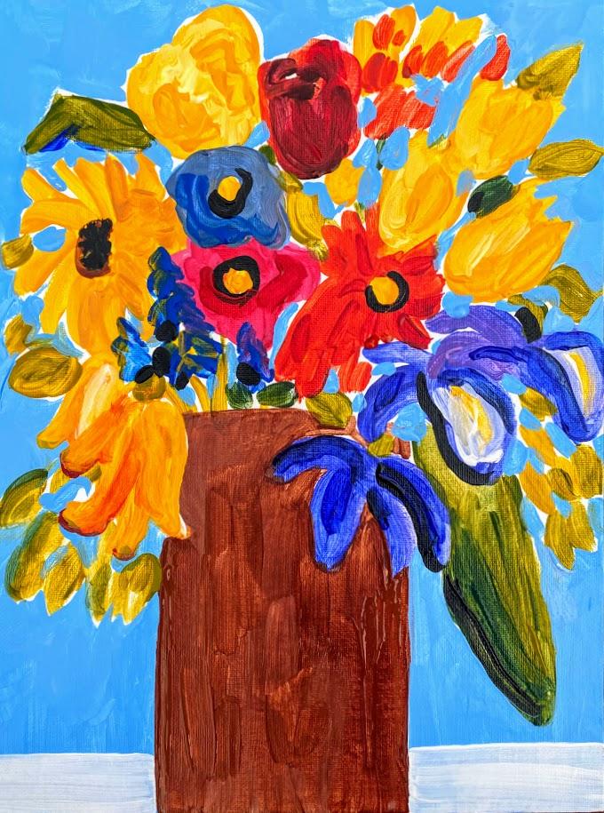 Happy Little Paint Along Take & Create