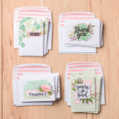 Hands On! At Home - Create Gratitude Cards: Making & Writing