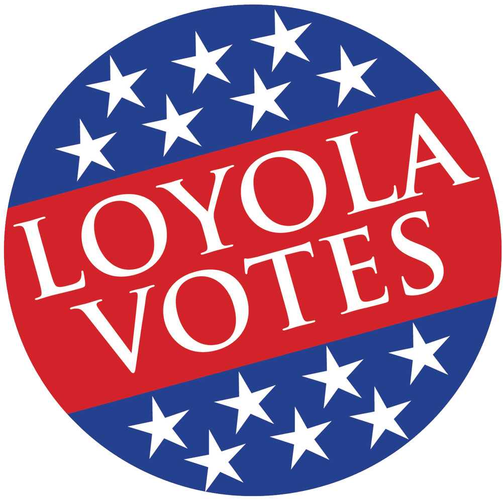 Loyola Votes logo