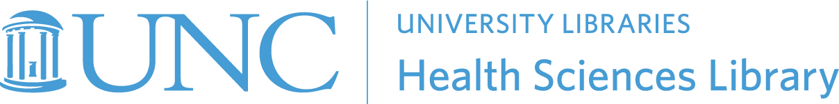 UNC Chapel Hill Health Sciences Library logo