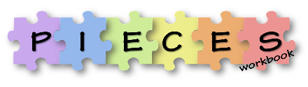 PIECES of a systematic review logo