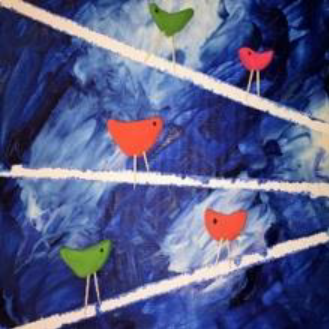 Take and Make with KidCreate Studio: Birds on a Wire