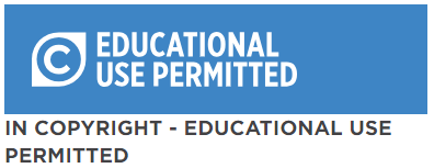 In Copyright, Educational Use Permitted
