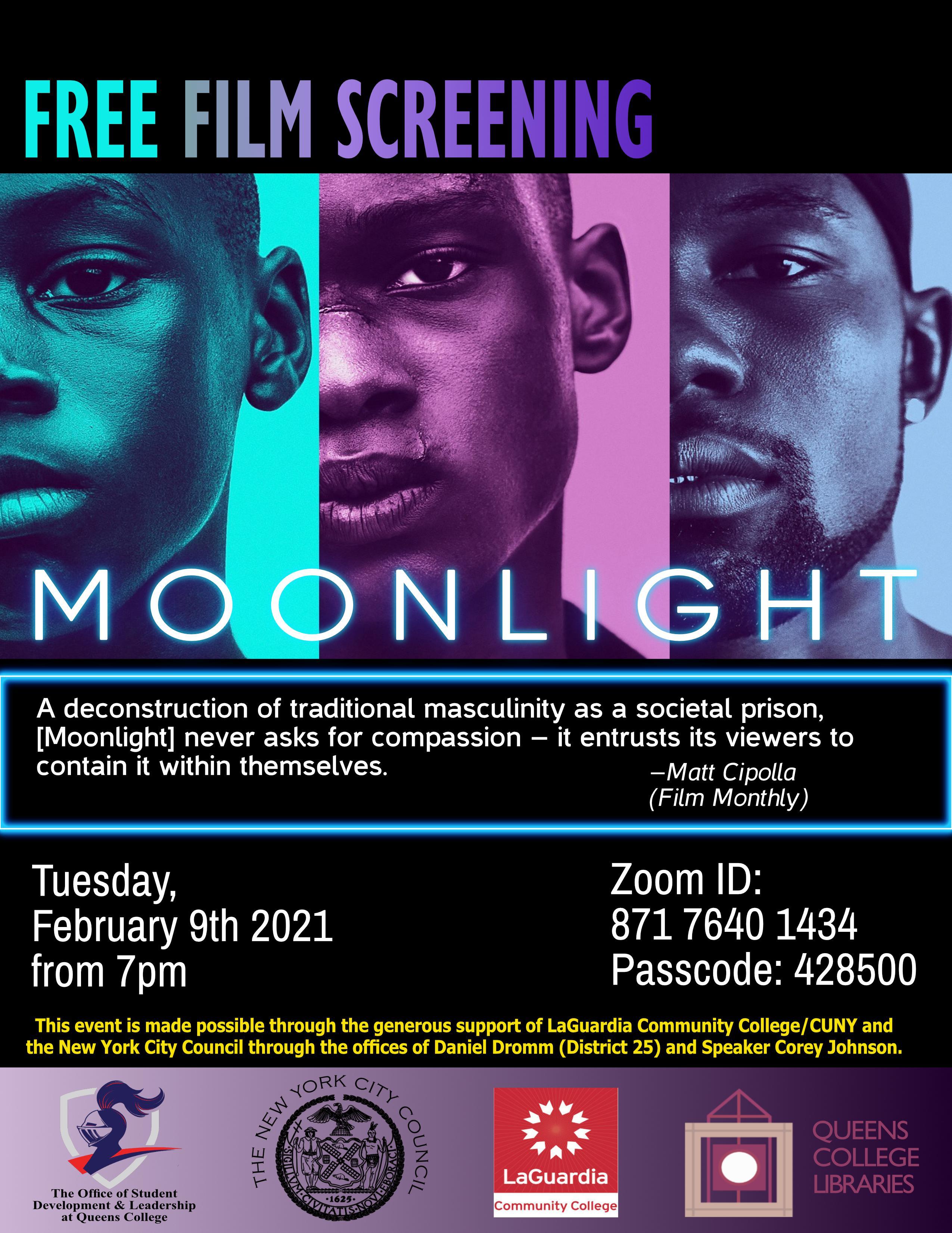 FIlm Screening: Moonlight