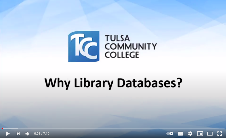 Useful Database Features Video