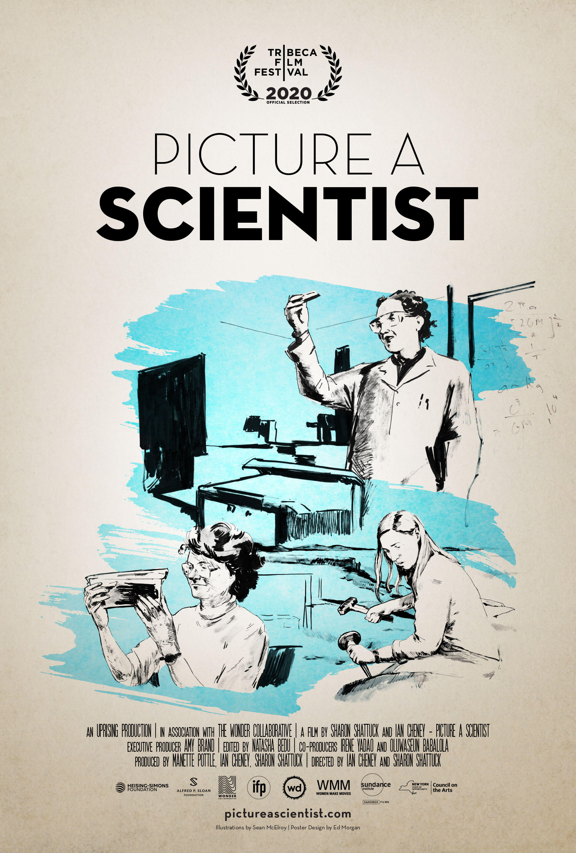 Poster for Picture a Scientist Feature-Length Documentary