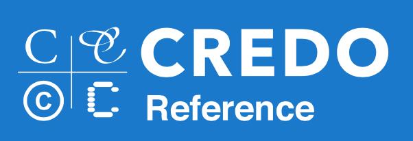 Credo Reference Database Logo
