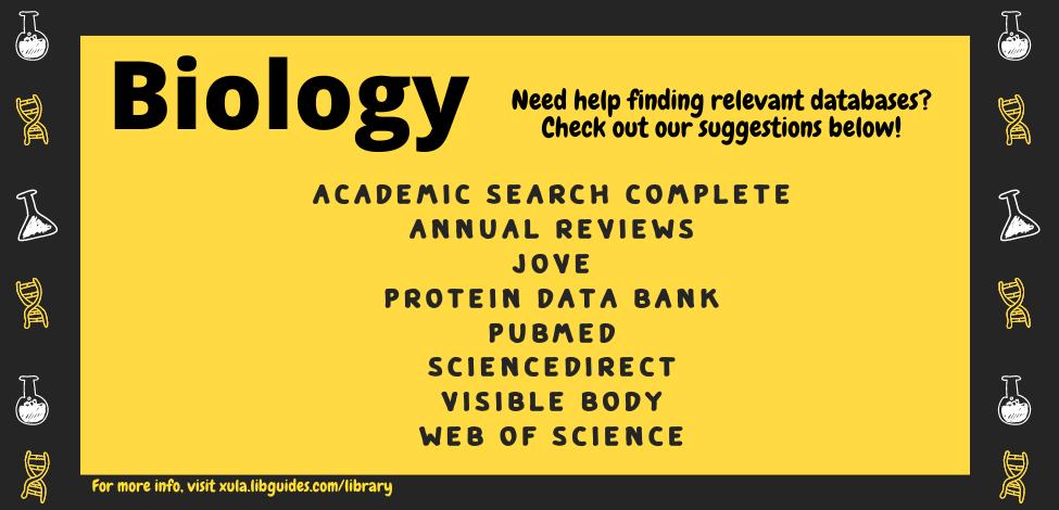 Biology Databases