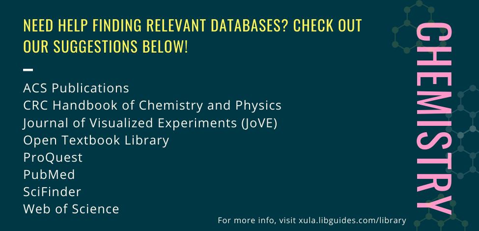 Chemistry Database
