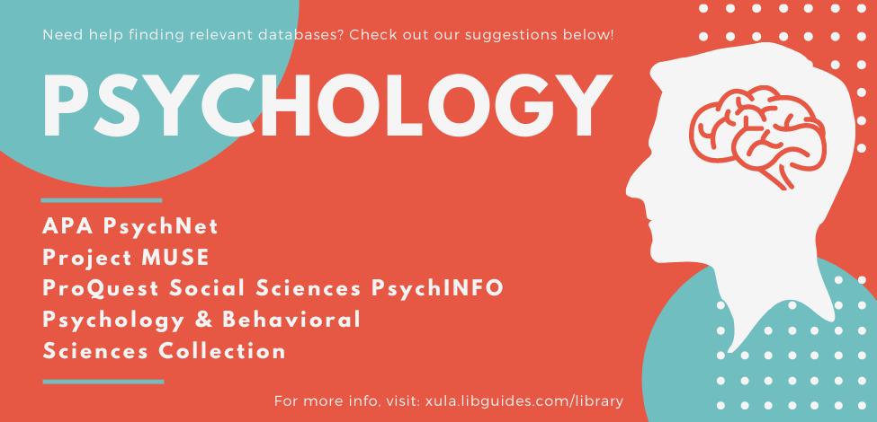 Psychology Databases