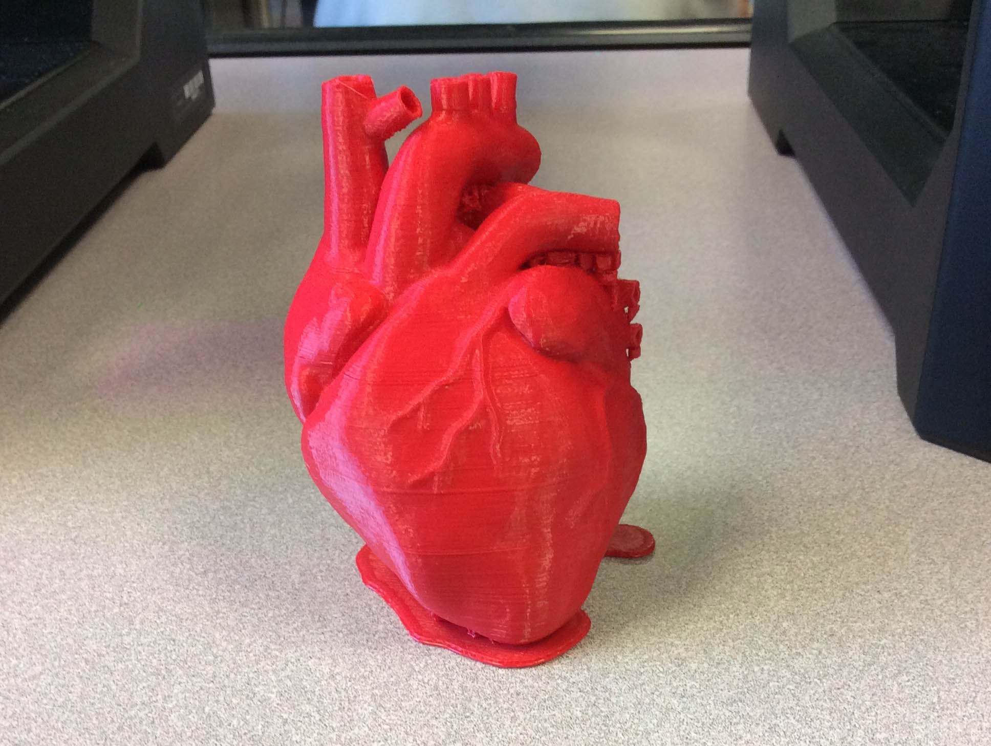 3D Printed Red Heart