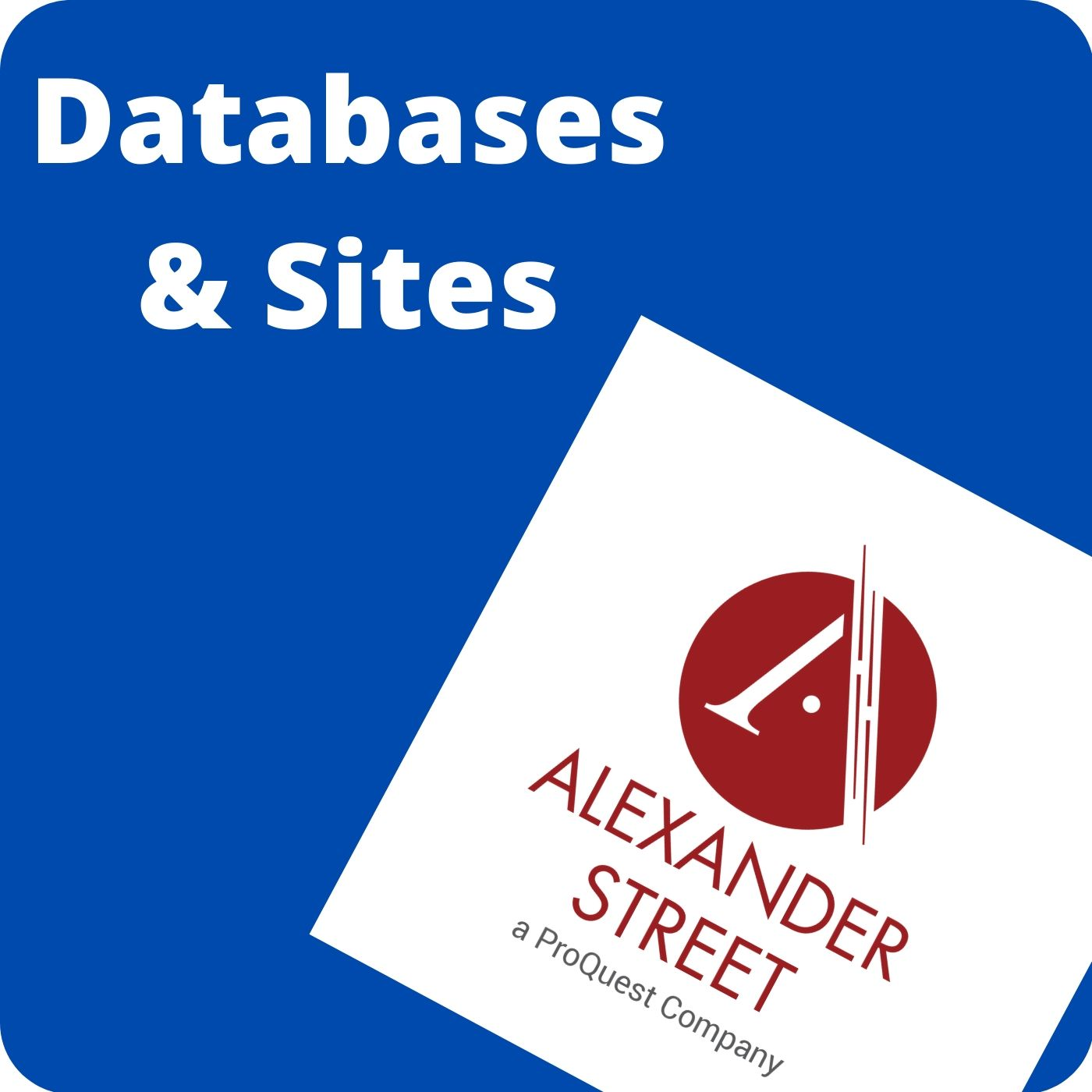 databases and sites shortcuts