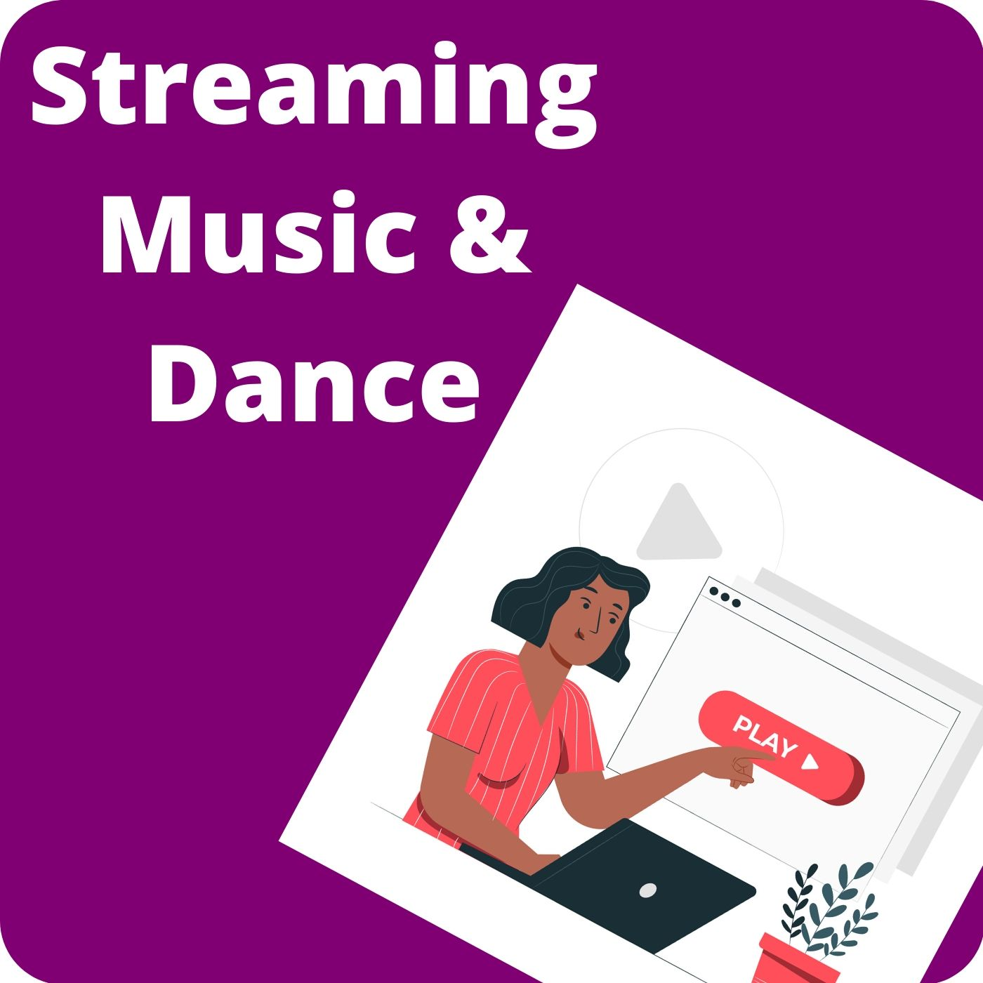 streaming music and dance shortcut