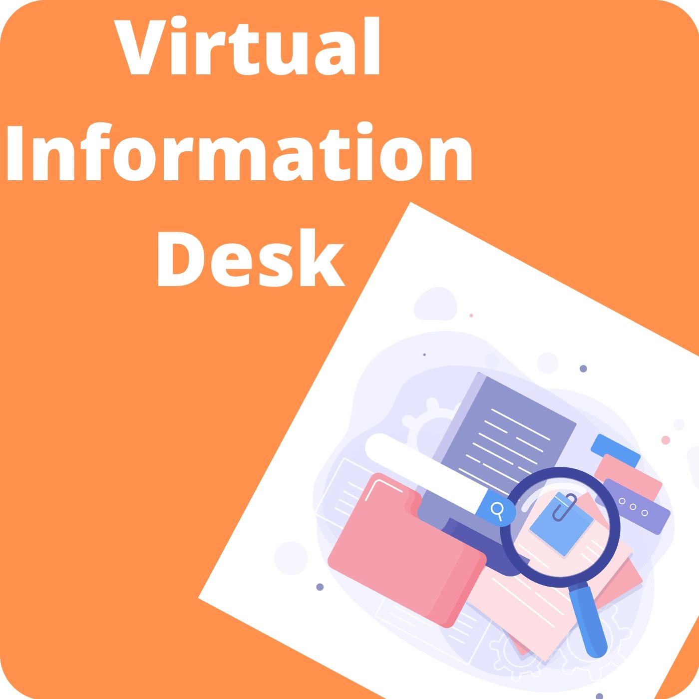 Virtual information desk shortcut