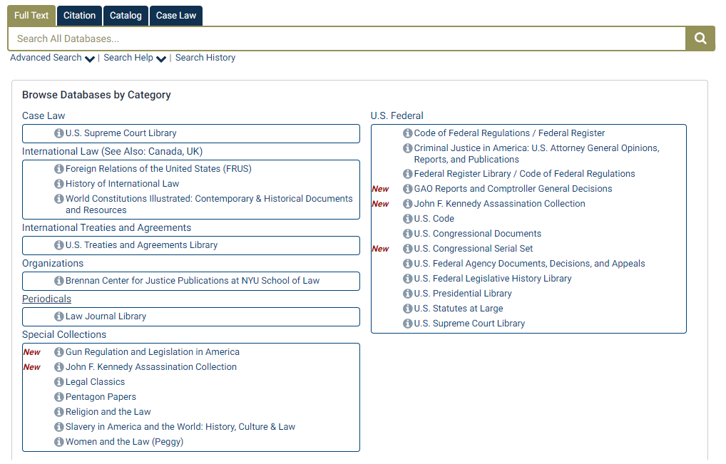 shows picture of database table of contents