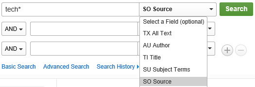 image of selecting source option.