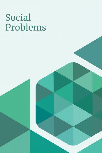 Social Problems 2016 Cover