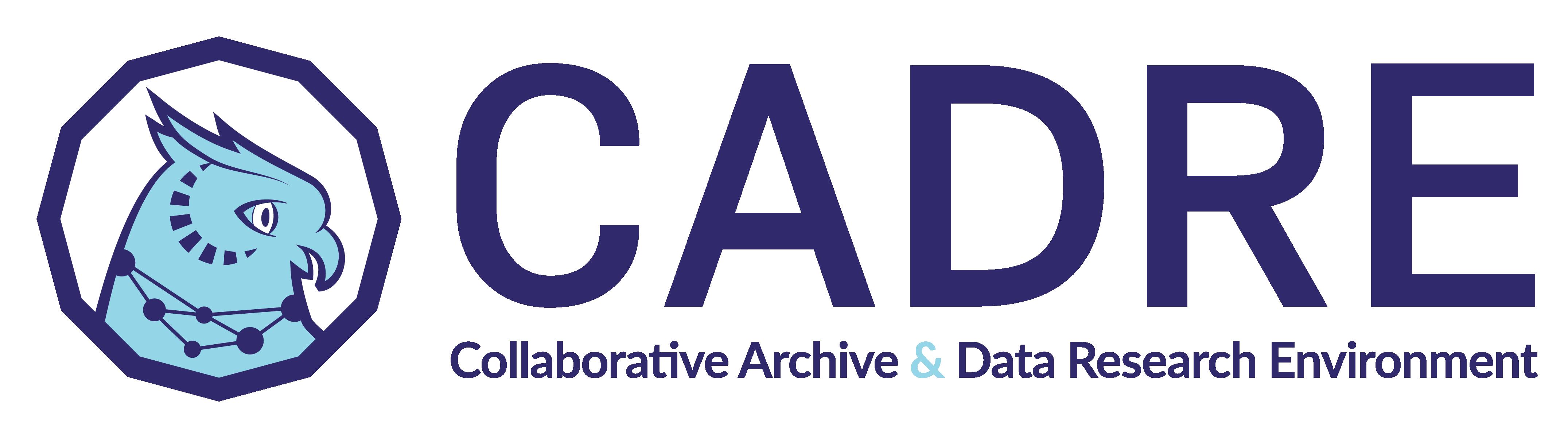 collaborative archive & data research environment logo
