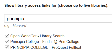 Library Links 2021