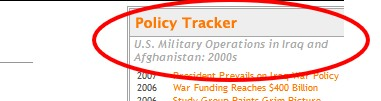 CQ Almanac Iraq War 2003 Policy