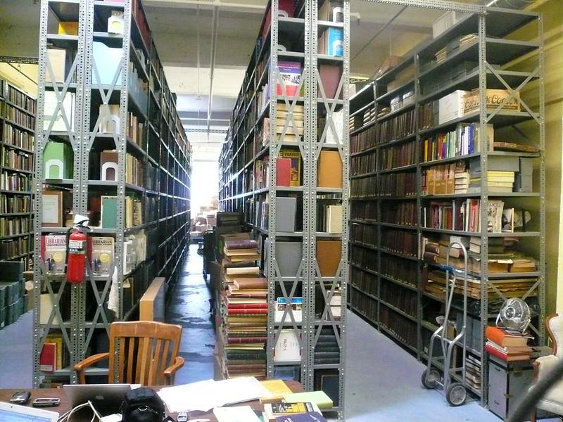 Prelinger archive shelves