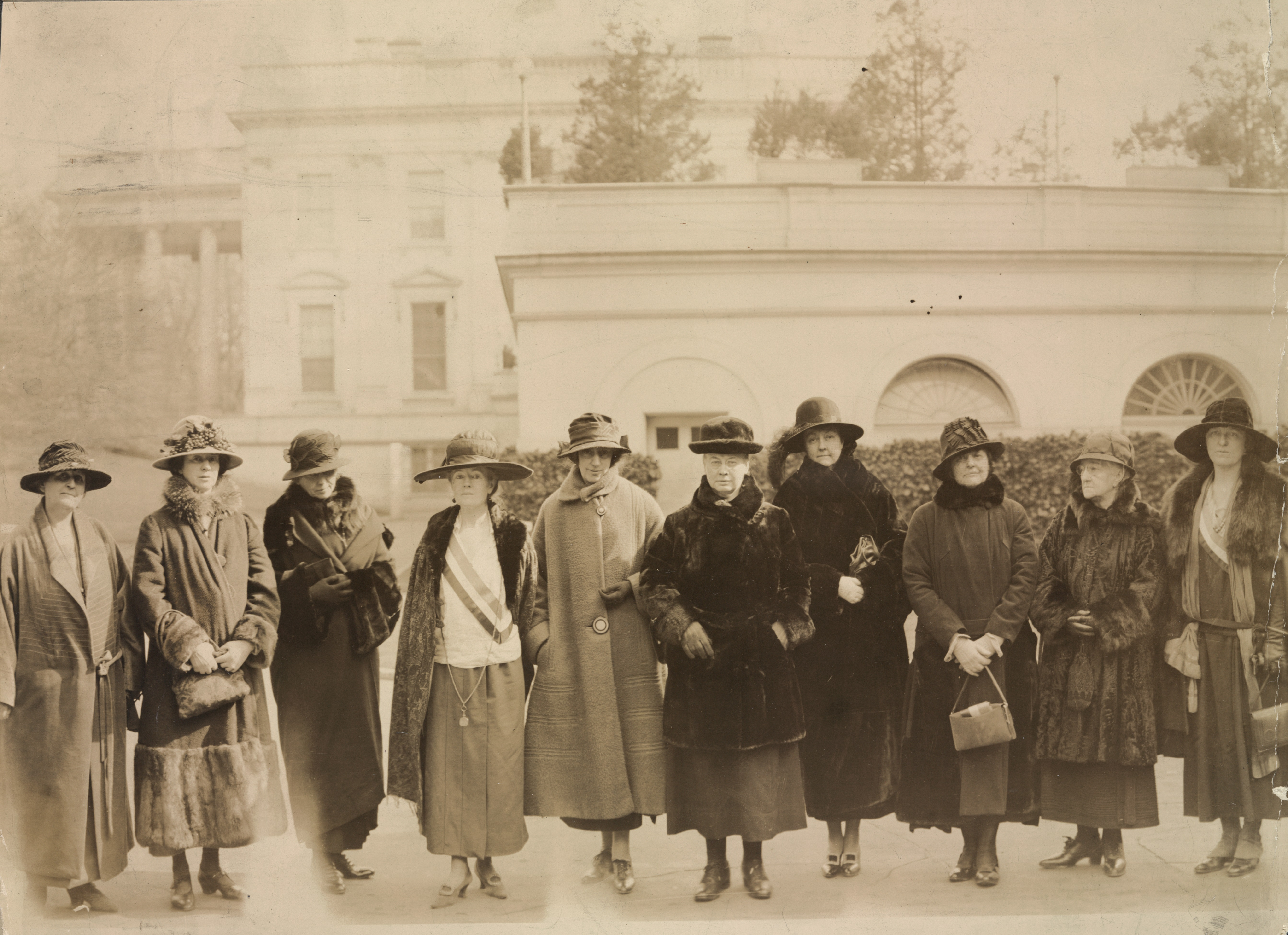 10 National Woman's Party Members Advocate