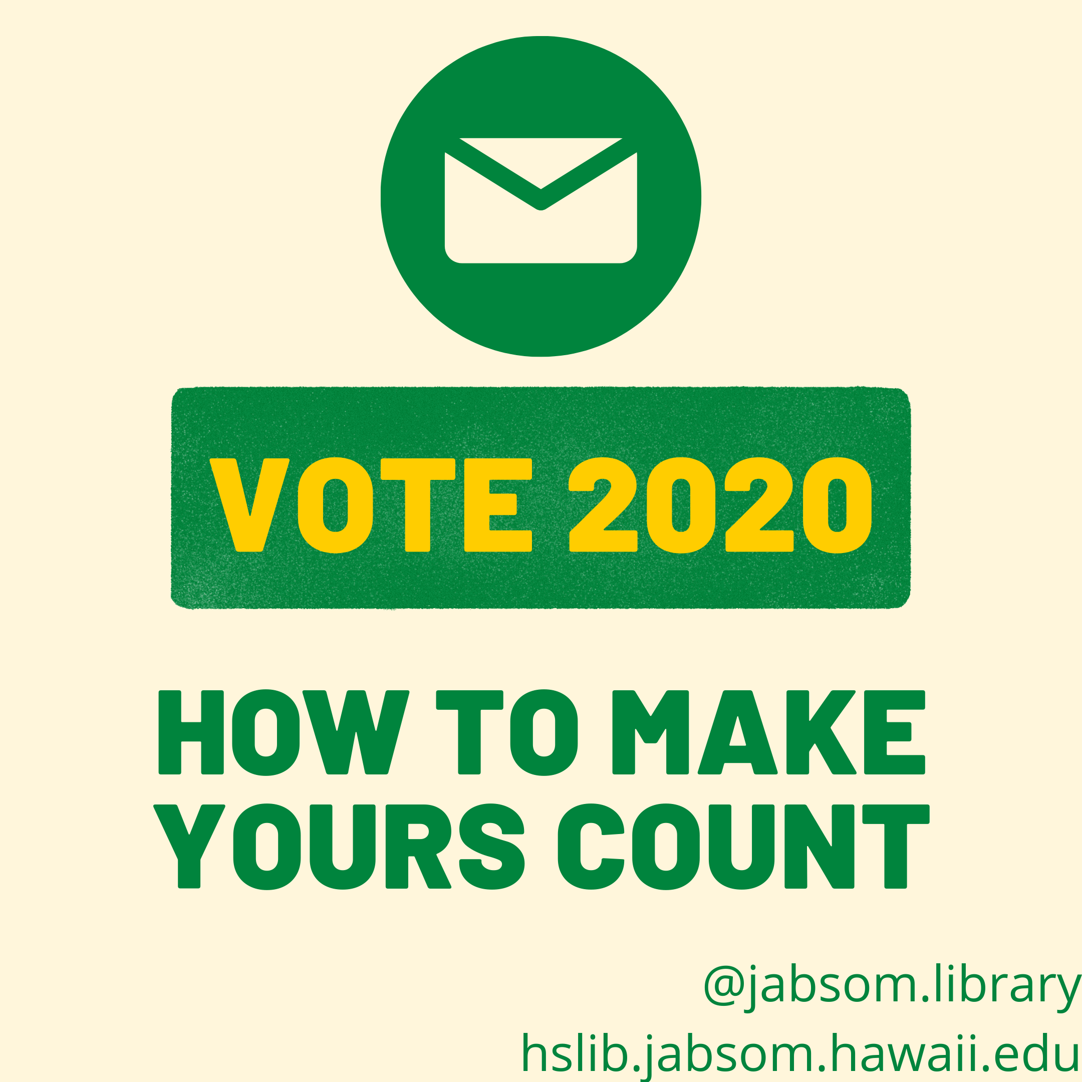 VOTE 2020: How to make yours count