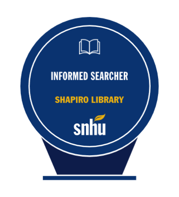 informed searcher badge