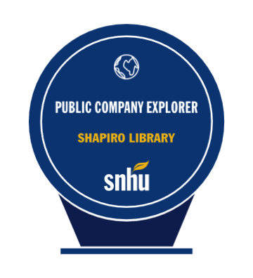 Public Company Explorer Badge