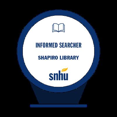 informed searcher badge