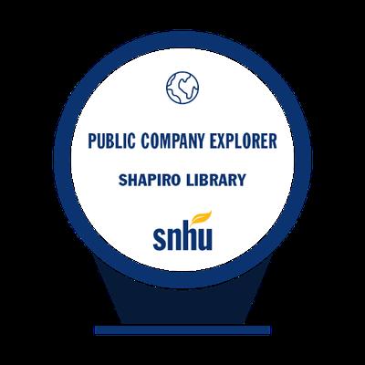 Public Company Explorer Badge