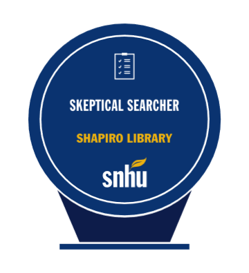 Skeptical Searcher Badge