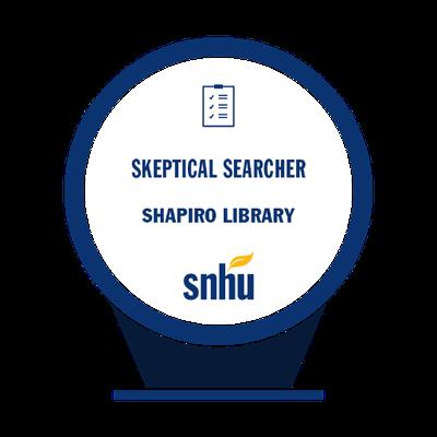 Skeptical Searcher Badge
