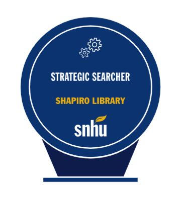 Strategic Searcher Badge