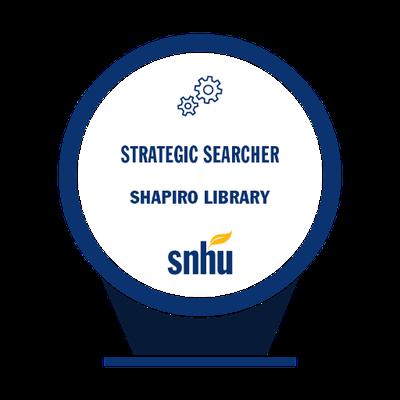 Strategic Searcher Badge