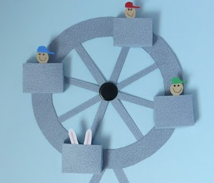 Saturday STEAM: Working Paper Ferris Wheel