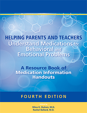 Helping Parents and Teachers Understand Medications Book Cover