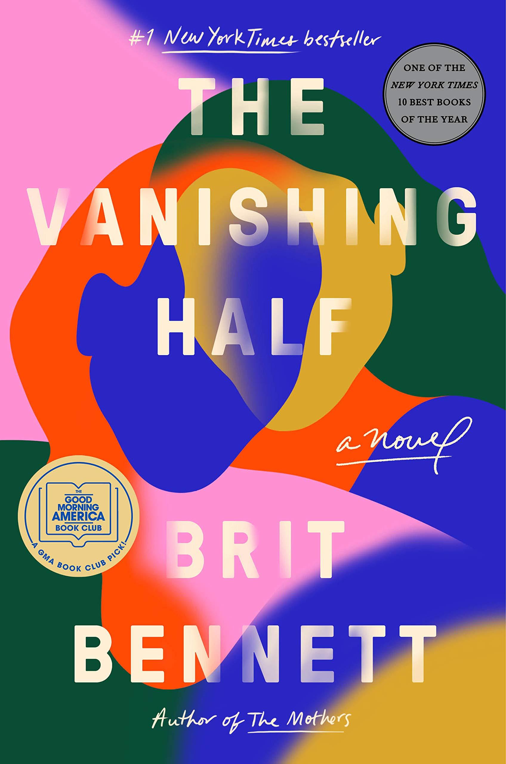 Book cover art for The Vanishing Half by Brit Bennett
