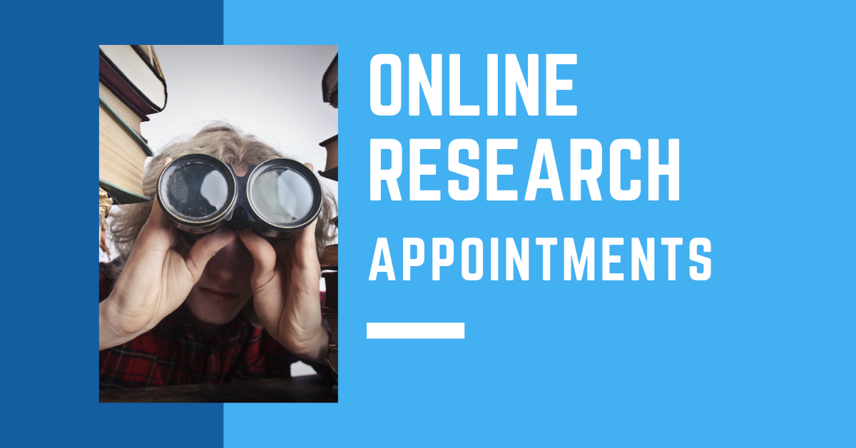 Online Research Appointments