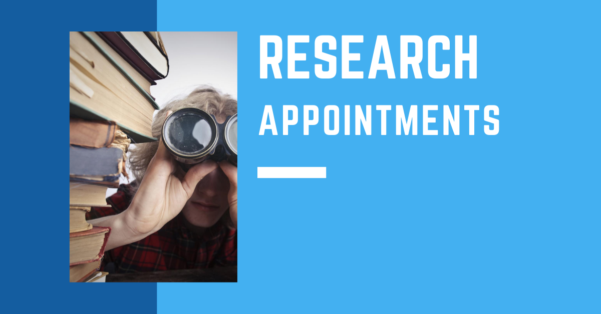 Research Appointments