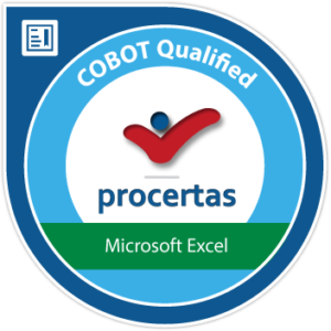 Procertas COBOT Excel Badge