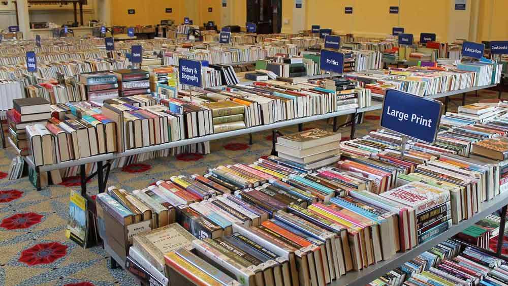 Friends of the Newstead Library Book Sale -
