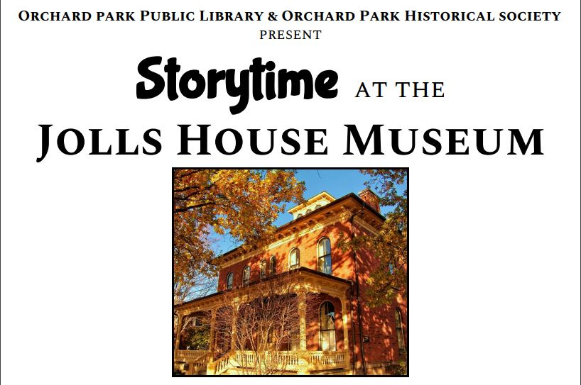 Storytime at the Jolls House Museum